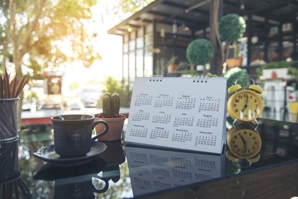 nákupní kalendář